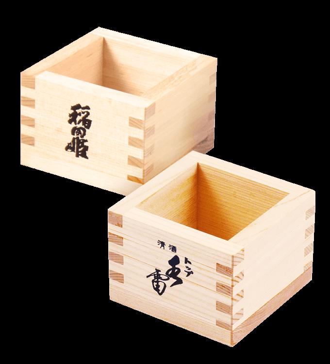 稲田姫・トップ水雷 桧桝(一合)